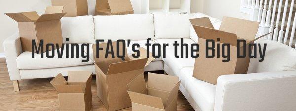 Moving FAQs